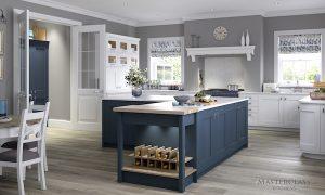 Ashbourne Windsor Blue kitchen