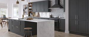Shelford graphite tuscan kitchen