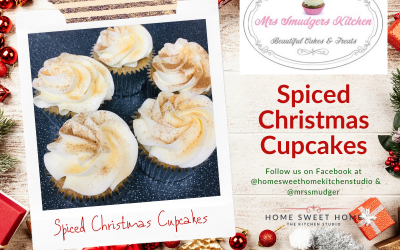 Christmas Spiced Cupcakes
