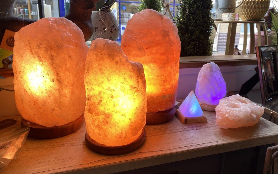 5 benefits to salt lamps