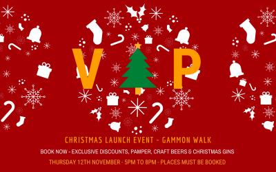 VIP Christmas Launch Night