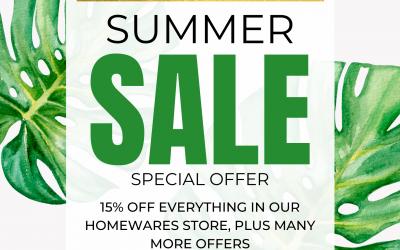 Summer Homewares Sale